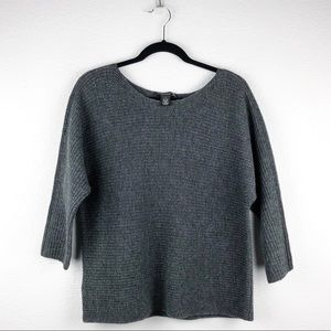 Ann Taylor Wool Cashmere Blend Sweater